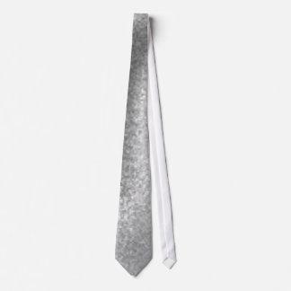 silver monochrome velvet crumpled tie