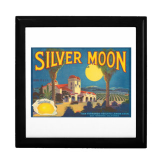 Silver Moon Fruit Crate Label Gift Box