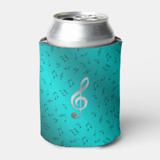 silver music notes can cooler