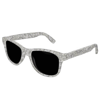Silver Oriental Ornate Sunglasses