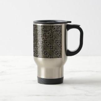 Silver Oriental Ornate Travel Mug