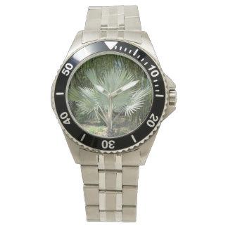 Silver Palm Tree Watch