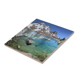 Silver Pass Tarn - Johm Muir Trail Ceramic Tile