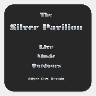 Silver Pavilion Sticker