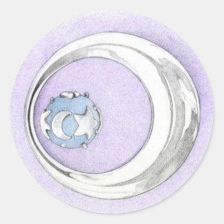 Silver Pendant Sticker