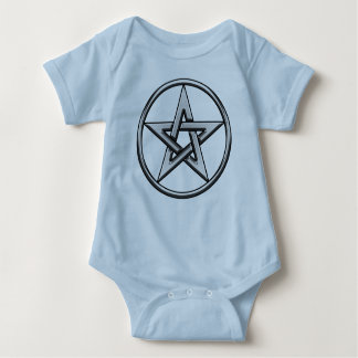 Silver Pentagram 2 kids t shirt