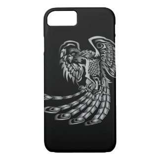 Silver Phoenix Rising iPhone 8/7 Case