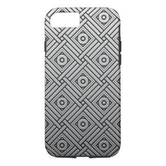Silver Platinum Geometric iPhone 8/7 Case