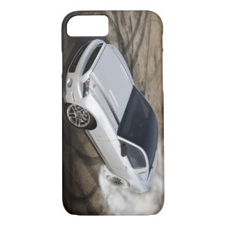 Silver Pony Car iPhone 7 Case