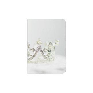 Silver Princess Crown Passport Holder