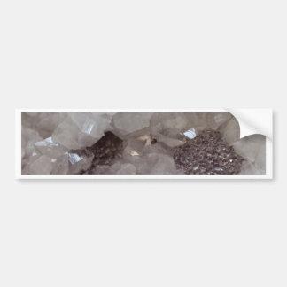 Silver & Quartz Crystal Bumper Sticker