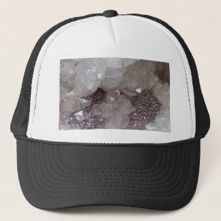 Silver & Quartz Crystal Trucker Hat