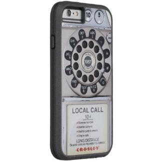 silver retro payphone iphone case tough xtreme iPhone 6 case