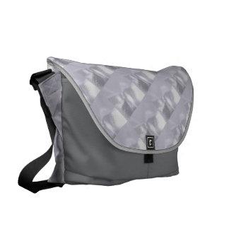 Silver Ripple Messenger Bags