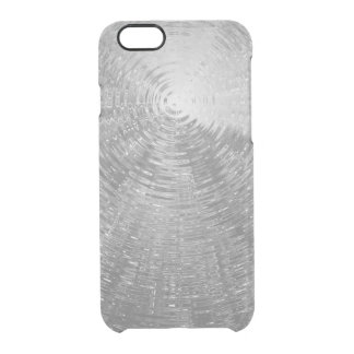 Silver Ripples Clear iPhone 6/6S Case