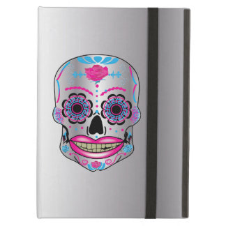 Silver Rose Candy Skull Ipad Air Case