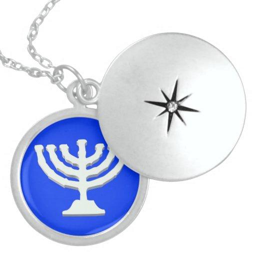 Silver Round Locket candlestick custom design