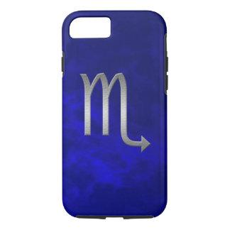 silver scorpio - blue iPhone 7 case
