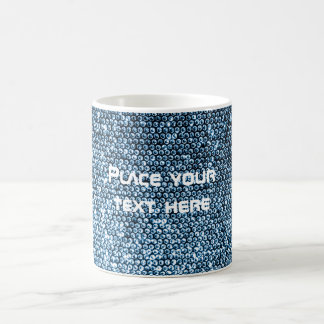 Silver Sequins Coffee Mug
