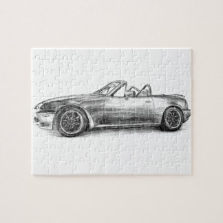 Silver Shadow MX5 Jigsaw Puzzle