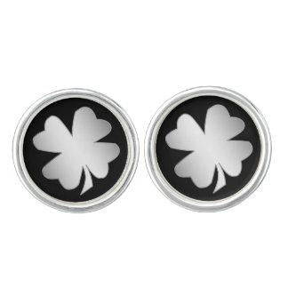 Silver Shamrock Cufflinks