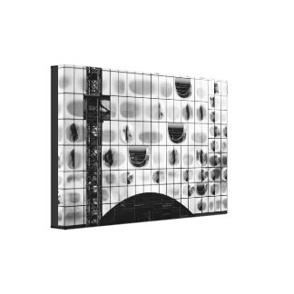 Silver shed canvas print