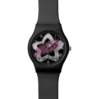silver shiny star watches