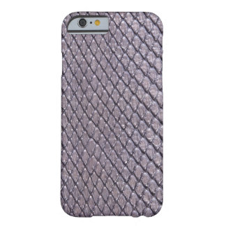SILVER SNAKE SKIN BARELY THERE iPhone 6 CASE