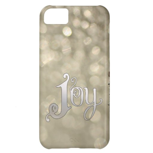 Silver Snowdust - Joy Case For iPhone 5C