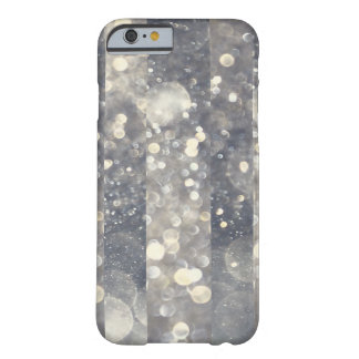 Silver Sparkle Glitter Glamour Glam Modern Trendy Barely There iPhone 6 Case