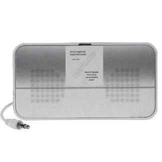 Silver speaker  half and half template