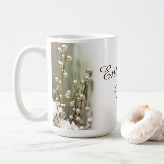 """Silver Spheres"" Coffee Mug"