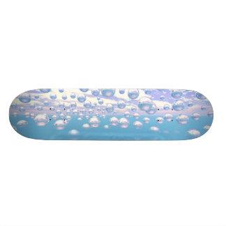 Silver Spheres Skate Board