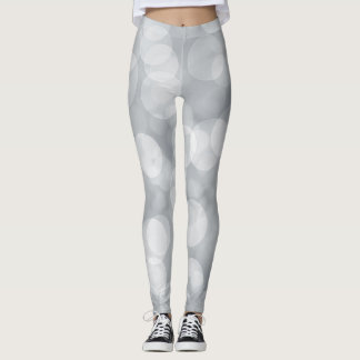 Silver Spotlights Leggings