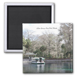 Silver Springs, Florida, Glass Bottom Boat Magnet
