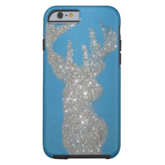 Silver Stag Deer Head Phone case