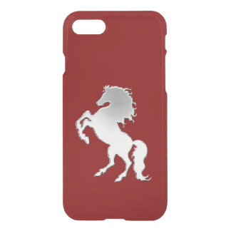 Silver Stallion Black iPhone 8/7 Case