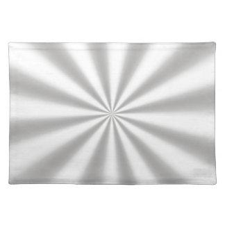 Silver Starburst Placemat