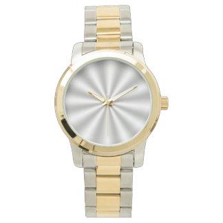 Silver Starburst Watch