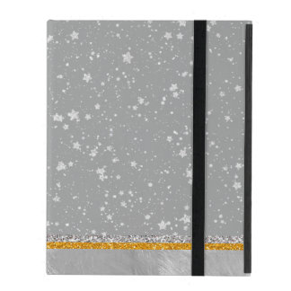Silver Stars iPad Cover