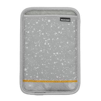 Silver Stars iPad Mini Sleeve
