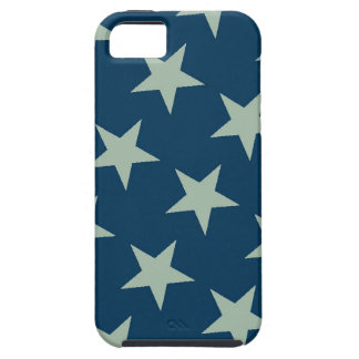 Silver stars iphone 5 Case