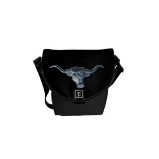 Silver Steer Courier Bags