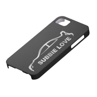Silver STI Silhouette Logo iPhone 5 Cover