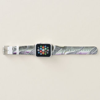Silver Stream Apple Watch Band
