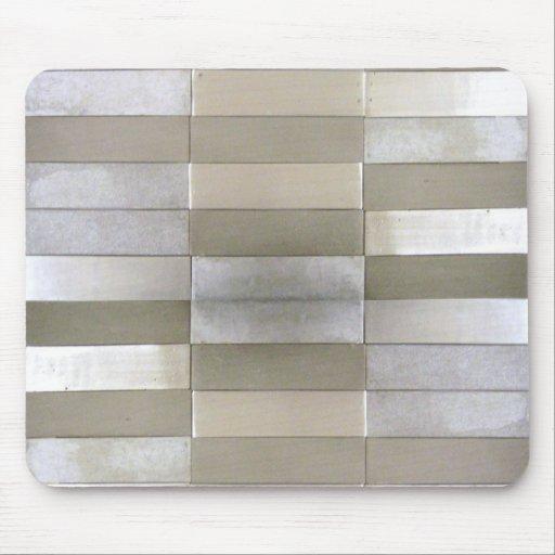 Silver Tiled Mousepad