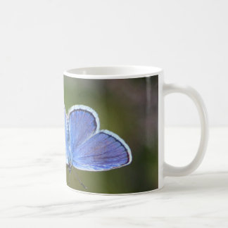 Silver-tip Blue Coffee Mug