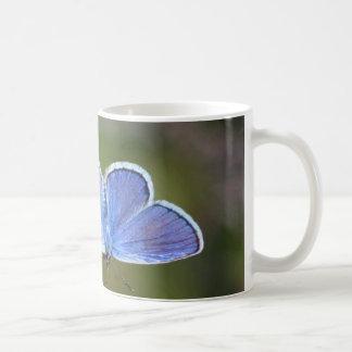 Silver-tip Blue Mugs