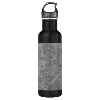 SILVER TRAVERTINE 710 ML WATER BOTTLE