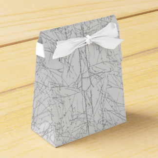 Silver 'Tree' Favour Box